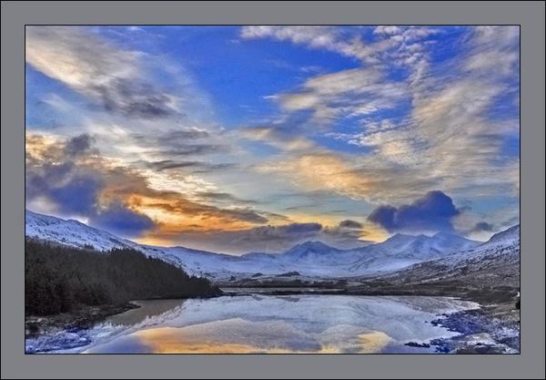 Sunset Over Snowdonia by johncob