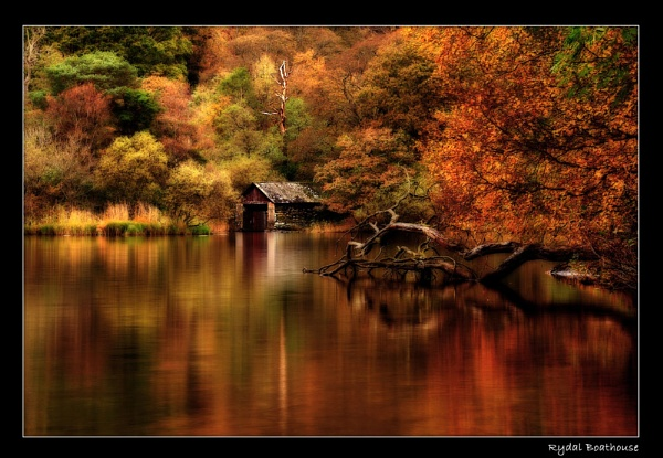 Rydal Boathouse by ColouredImages