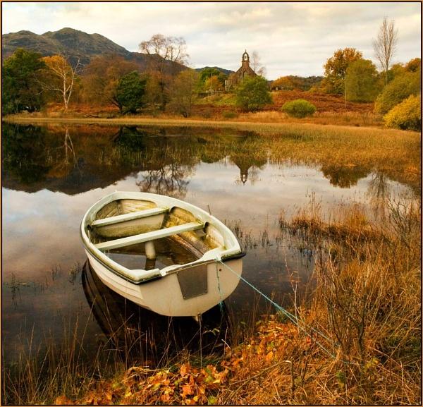 Autumn, Achray by MalcolmM
