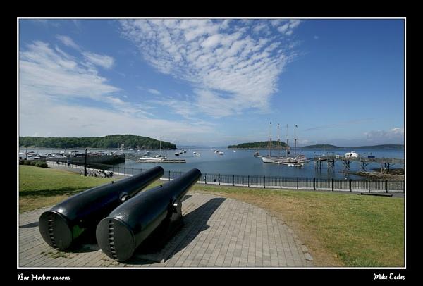Bar Harbor canons by oldgreyheron