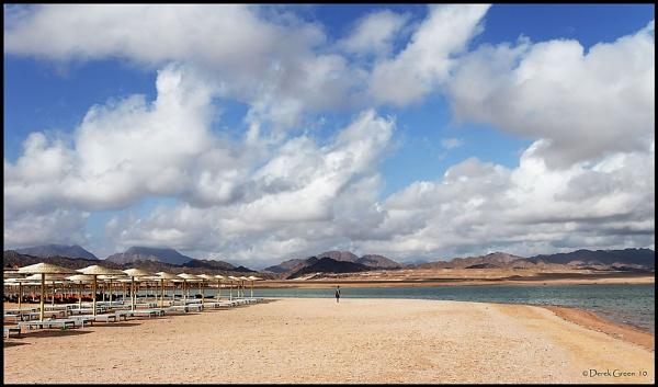Deserted Beach by OMG