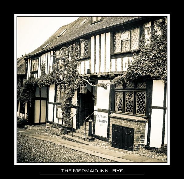 The Mermaid Inn, Rye by andywest