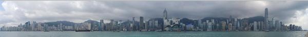 Panorama HK Island by gjayesh