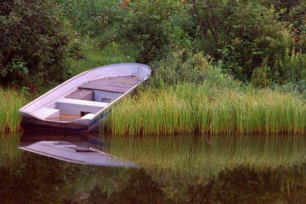 Boat Reflection by TrevorB