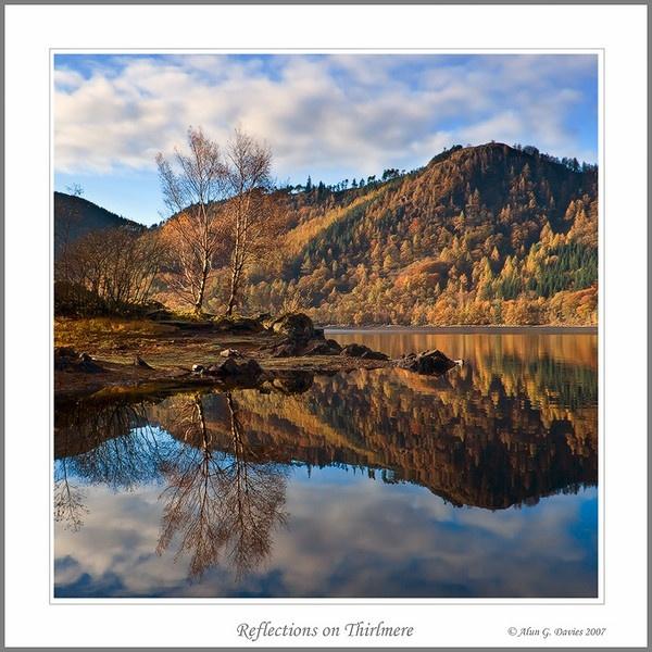 Reflection on Thirlmere by Tynnwrlluniau