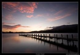 Coniston Winter Sunset