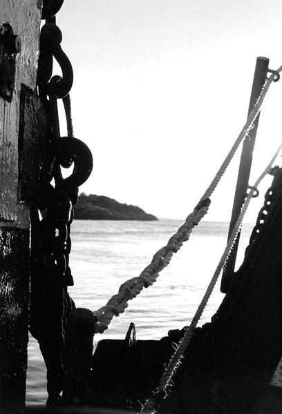 ferry crossing by agean