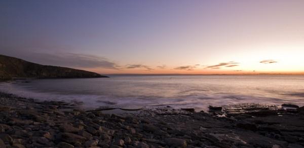 Glamorgon and smooth seas by Henshall