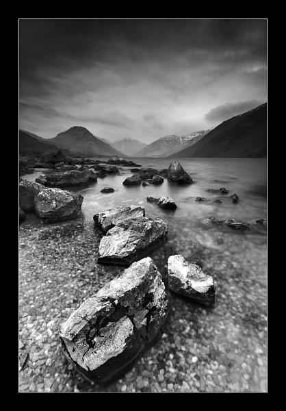 Boulders II by jeanie