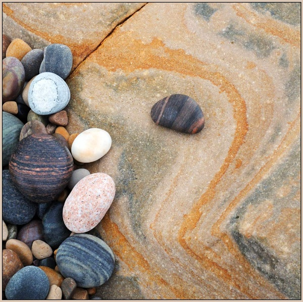 Pebbles & Sandstone by MalcolmM