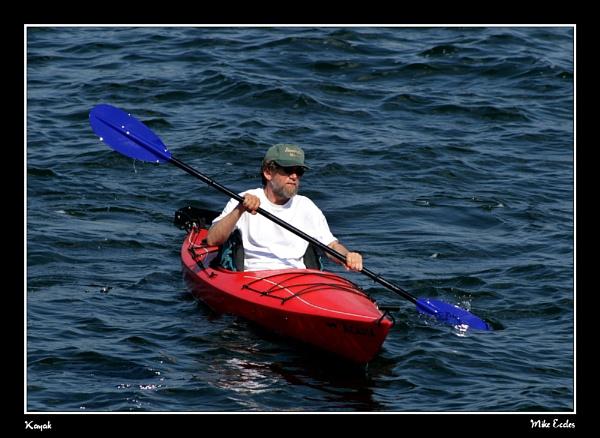 Kayak by oldgreyheron