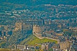Edinburgh Castle from the Calton
