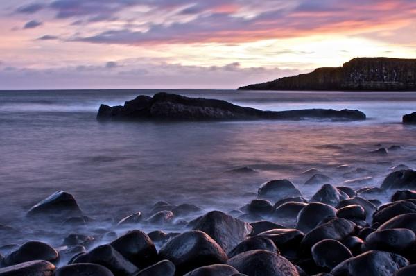 Dunstanburgh Head by alansdottir