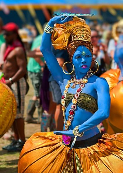 Blue Dancer by stormcrowuk