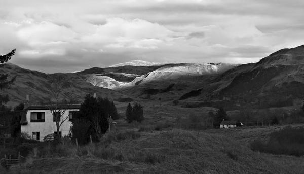 scottish mountains by abesad