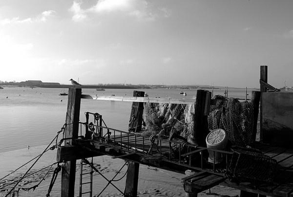 Fishing Baskets Burnham On Sea by essexdean
