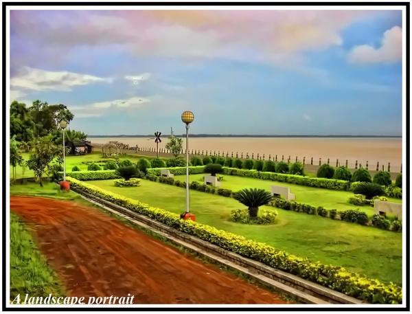 Landscape portrait by rajsaha001