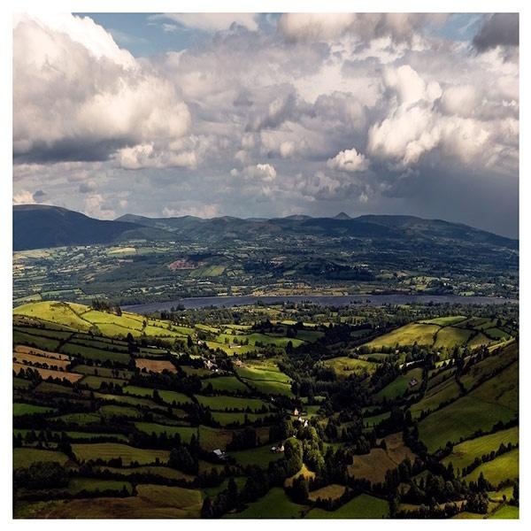 Irish Landscape by Kot