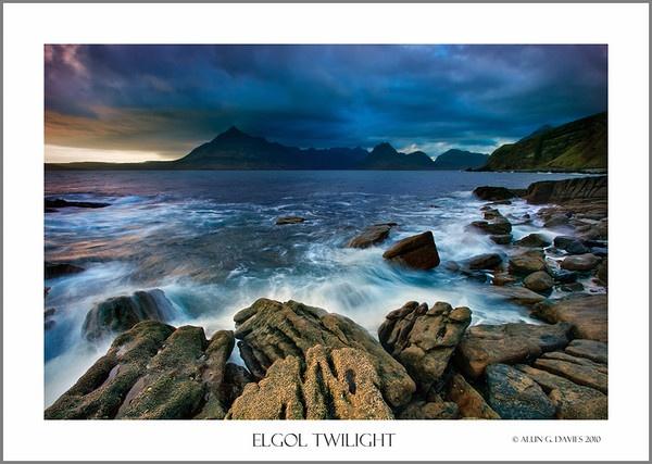 Elgol Twilight by Tynnwrlluniau