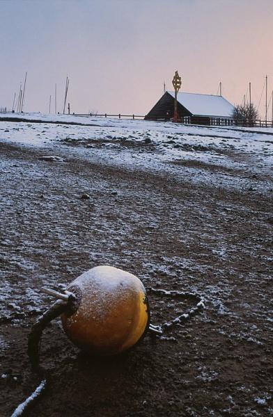 Buoy & Snow. by Amanita05