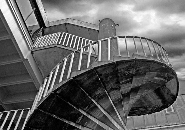 Urban stairway by wattley