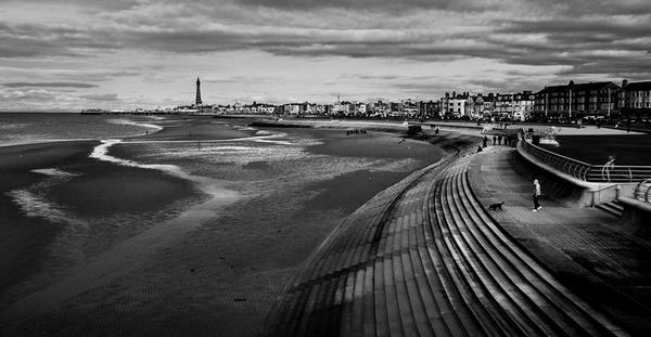 Sea Defences Blackpool by chensuriashi