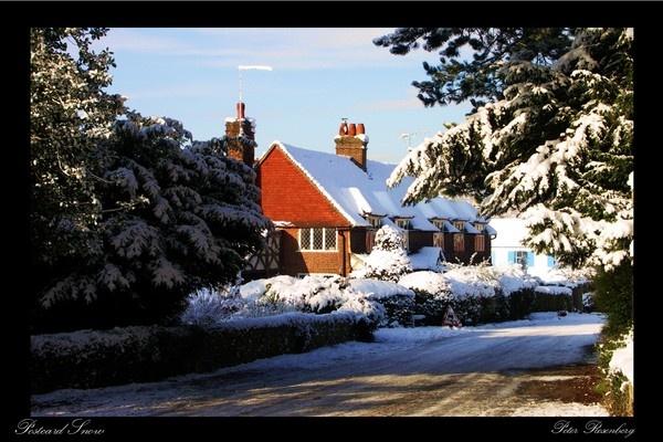 Postcard Snow by pmscr