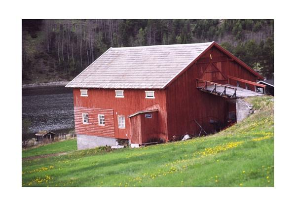 Cow Barn by jinstone