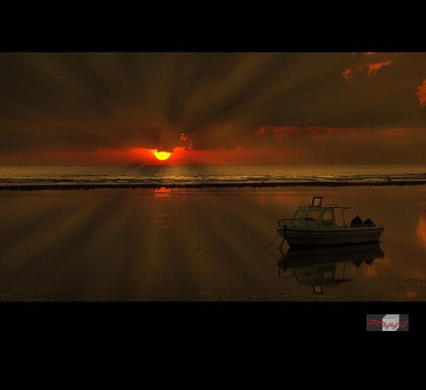 sunrize in sanur by RuudBlok