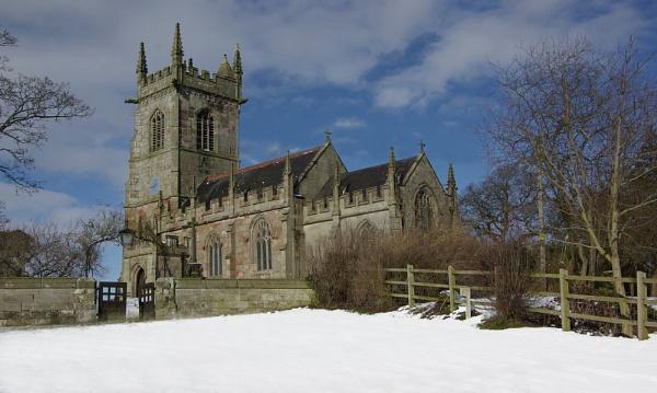 Ightfield church. by JWA