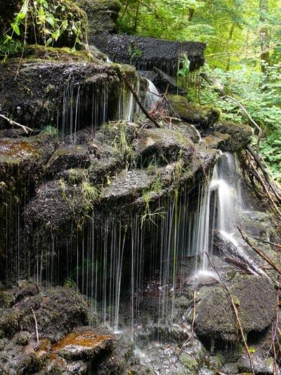 Small Waterfall - Birks of Aberfeldy by Rapido57