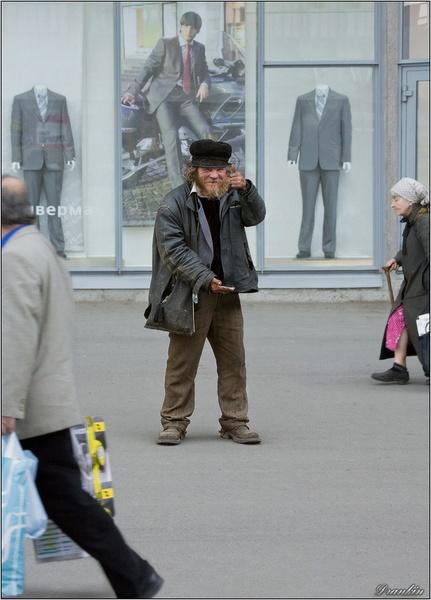 Homeless and happy by IgorDrankin
