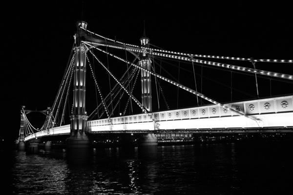 Albert Bridge by garnham123