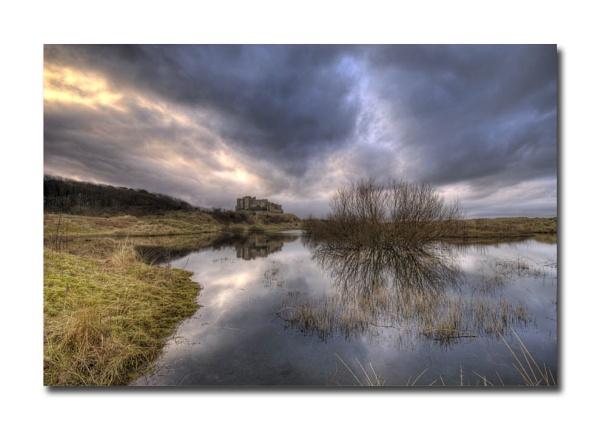 Castle lake by princezippy
