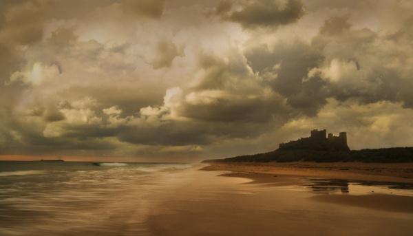 Dawn on the Beach by harryw