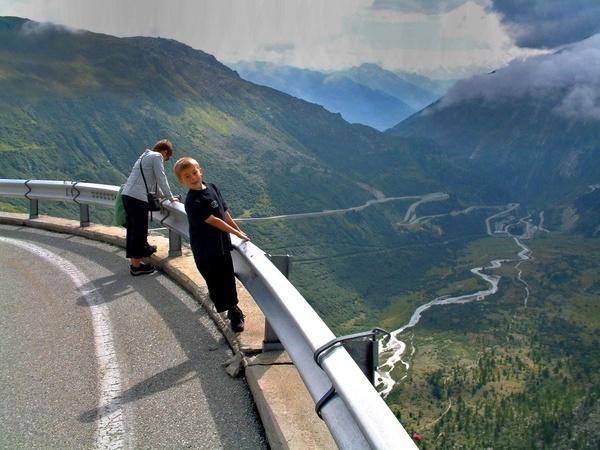Furka Pass, Switzerland by Gillspam