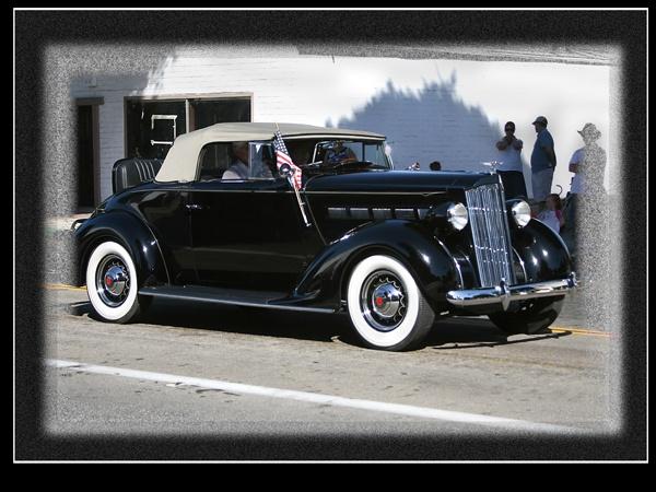 Black Packard by eagleheadphotos
