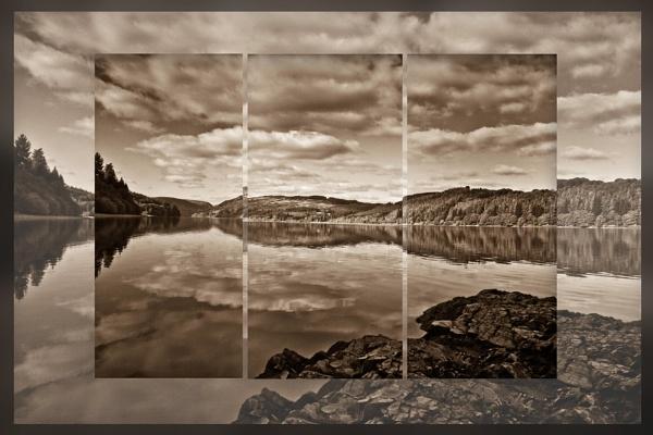 * sepia cloudscape by Mynett
