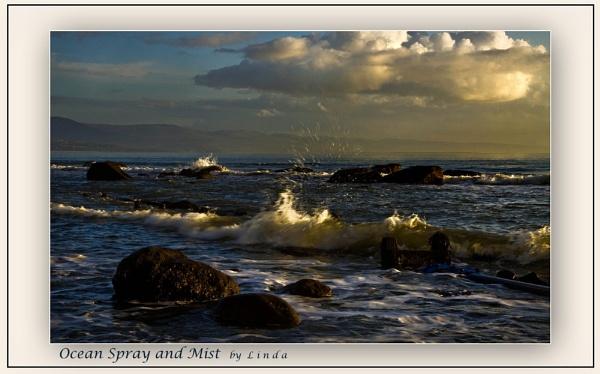 Ocean spray and mist by Mynett