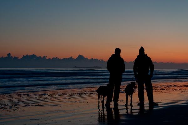 Bamburgh Beach Boys by davidlaurie