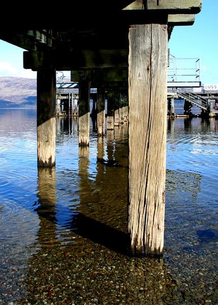 Luss jetty by gary1