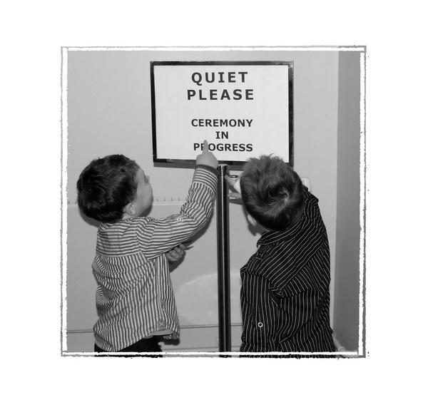 Quiet Please by ClairelouD
