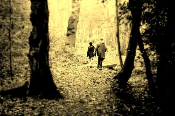 Sepia Walk Away by Manni1996