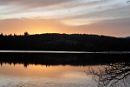 Reflective Sunset over Loch Venacher