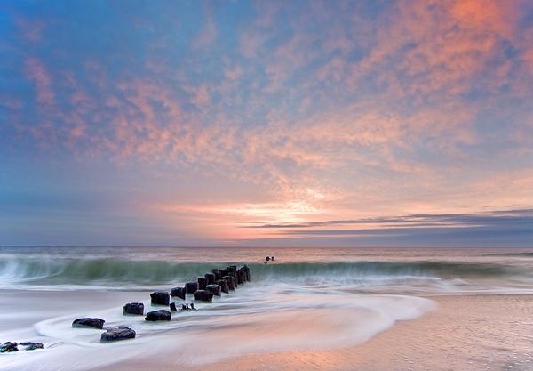 Carolina Beach Sunrise by jlbissette13