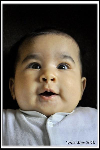 Baby Portrait by Bluebiriyani