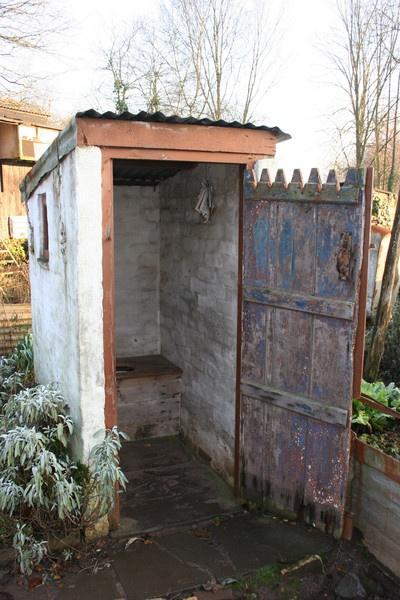 Pre Ww2 Outside Toilet In Garden By Welshman77