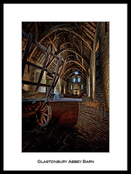 Glastonbury Abbey Barn by DiegoDesigns