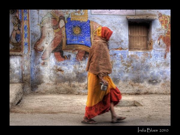 India Blues by BURNBLUE