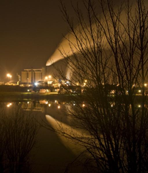 Across the lake, Newark by n8trm